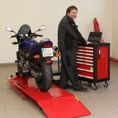 diagnostika motocyklu