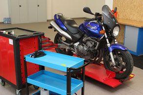 servis motocyklů a skútrů