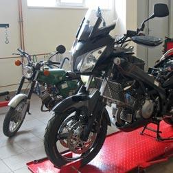 servis motocyklů a skútrů KAPMOTO